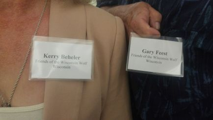 Kerry and Gary Nametags