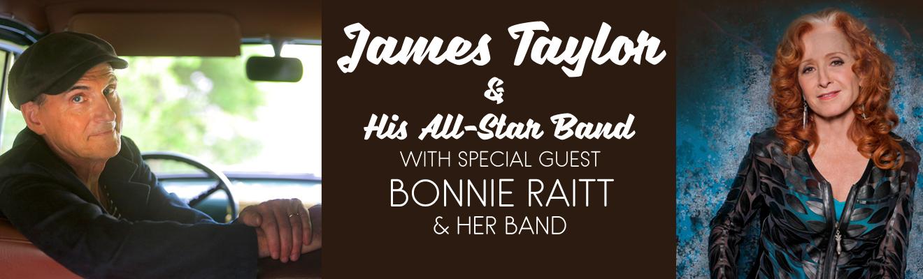 JamesTaylor and Bonnie Raitt
