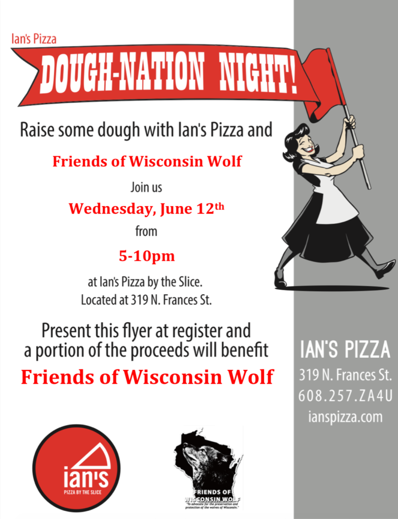 Friends of WI Wolf Ian's Flyer